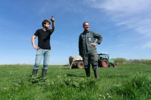 melkveehouders Jan en Joost Van Schie